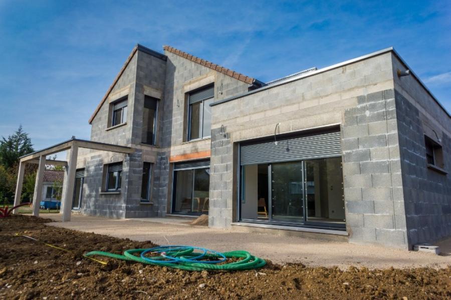 Réalisation maçonnerie maison à Cherbourg-en-Cotentin